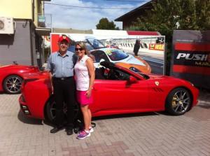 Dad in Italy