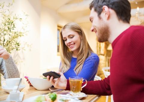 Real estate investing over dinner