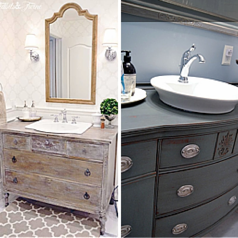 Bathroom Vanity Reno